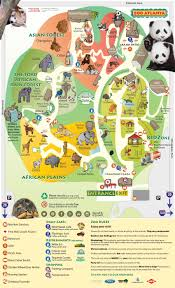 empty zoo map.  Map Atlanta Zoo Map 2014 In Empty Map P