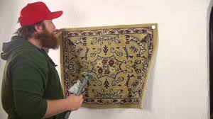 on hanging cloth wall art with how to attach fabric to a wall nails screws wall hangings youtube
