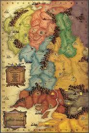 tolkiens legendarium  is there a map of frodo's journey during