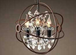 full size of large globe crystal chandelier floor lamp small rustic home improvement chic regarding metal