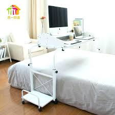 over the bed table ikea bed table simple tilt bed laptop table lazy to move across