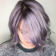 Light Purple And Silver Hair 40 Charming Light Purple Hair Color Ideas Elegance Is Trendy