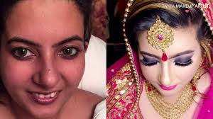 best makeup artist in jalandhar best bridal makeup by tania tania makeup artist 2017 india