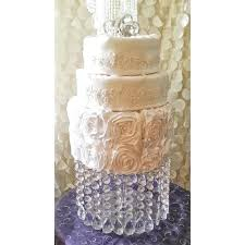 photo 7 of wedding cake stand with crystals chandelier acrylic beads cupcake dessert plates for vintage chandeli