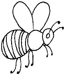 Small Picture bee coloring pages
