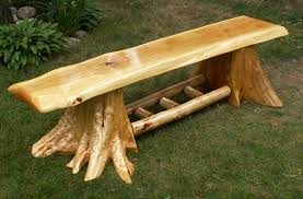 cedar log benches benches amp chairs handcrafted log furniture cedar benches