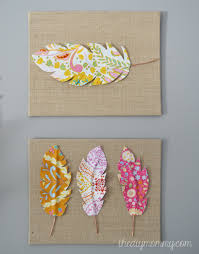diy fabric feather wall art just use wire fabric some heat