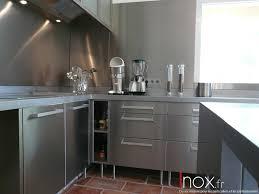Meuble Cuisine Ikea Inox Idée Pour Cuisine