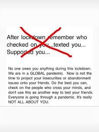 Then you should have testing, tracing, isolating, set up, she said. Fake Friends Quotes Home Facebook