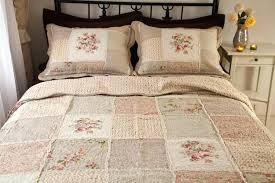 quilt sets brown red combine in flowers shades cotton set queen size square 100 duvet cover cotton quilt sets queen