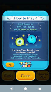 Tsum Exp Score Chart Line Disney Tsum Tsum Global 2019 June Event Collect