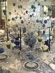 professional office space easter table decorations ideas blue white office space
