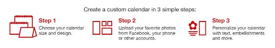 Customizable Calendar 2015 Photo Calendars Make Your Own Calendars Online At Cvs Photo