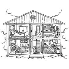 Parents or teachers who invest in coloring pages can truly reap benefits in terms of teaching their children the ways of the world in a creative manner. Top 20 Free Printable House Coloring Pages Online