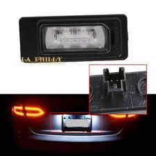 Audi A3 Led License Plate Lights Details About New Led License Plate Light Left Right For Audi A1 A3 A4 A5 A6 A7 Q3 Q5 Tt
