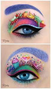 eye makeup ilrations popsugar beauty eye candy makeup crazy eye makeup creative eye