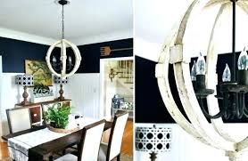 full size of wood orb chandelier diy parts bead distressed white home improvement extraordinary elegant french