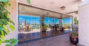 each sliding glass panel is 1 2 or 3 8 thick and consists of two industrial laminated pieces of tempered glass we use the latest generation of