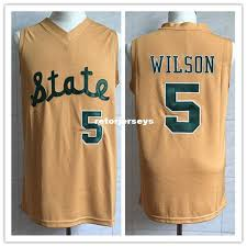 2019 5 Dj Wilson Michigan State College Retro Classic Basketball Jersey Mens Stitched Custom Number And Name Jerseys From Retorjerseys 23 46