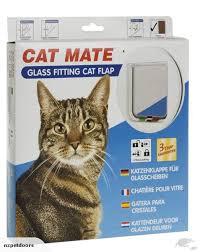 catmate glass fitting cat door