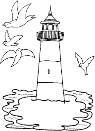 Small Picture Coloring Pages Printable Lighthouse Coloring Pages Coloring Me