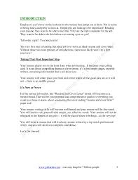 introduction Letter Expressing Interest in a job Position Sample