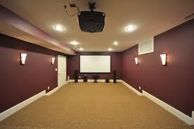 Basement Home Theater Lighting Amazing Basement Home Theater Idea More Below D I Y