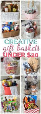 Coffee themed diy gift basket. Creative Gift Basket Ideas Under 20