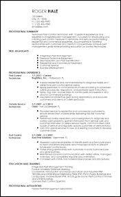 Professional Resume Templates 2013 Free Professional Pest Control Resume Templates Resume Now