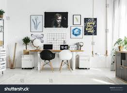 double desks for home office. Creative Home Office With Double Desk And Two Chairs Desks For H