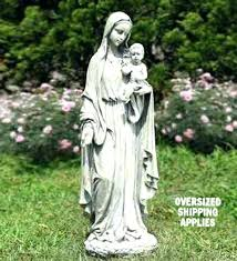 garden blessed mother statues and child outdoor resin statue find this pin more on for outdoors