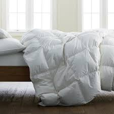 the company organic cotton ultra warmth white full down comforter