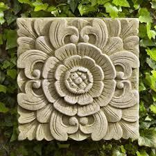 designs outdoor wall art: wall art design ideas releif outdoor wall art decor sample stone classic template of plaques