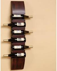 Cape Craftsmen 6 Bottle Wall Mount Wine Rack CCM2060