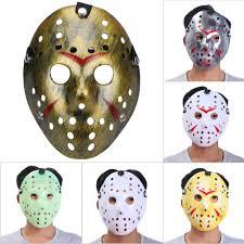 Mask Decorating Supplies Mascara Jason Masks Dance Gathering Jason Mask Horror Funny Mask 38