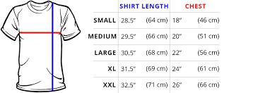 Small T Shirt Size Chart Mens T Shirt Size Chart Arts Arts