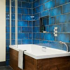 blue bathroom tiles. Montblanc Blue Bathroom Tiles Topps