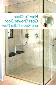 hard water stains on glass shower doors how to clean hard water spots from glass shower