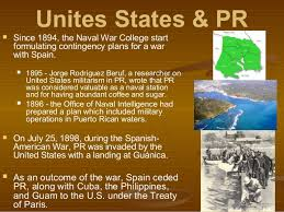 Image result for the cession of Puerto Rico to the United States.