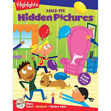 To order books with her hidden picture puzzles or topsy turvy land, click here. Hidden Pictures For Kids Hidden Pictures Puzzles Eagle Eye