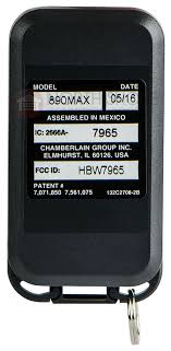 chamberlain 956ev garage keychain remote garagae door opener s get answers to your questions