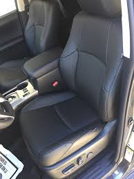 2016 2016 2017 2018 toyota 4runner sr5 3 row katzkin leather seat covers black
