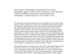 susan sontag on photography has argued that diane arbus s  document image preview