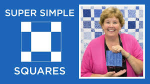 Make a Super Simple Squares <b>Quilt</b> with Jenny Doan of Missouri ...