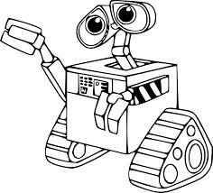 Dessin De Robots A Imprimer Coloriage De Robot L