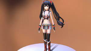 Anime test walk blender - Download Free 3D model by Erina eka syaharani  (@erinaekasyaharani) [faf2a9d]