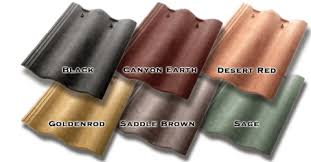 synthetic spanish mission roof tiles