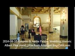2014 08 10 Antonio & Addie Palmer Wedding Historic Albert Pike Hotel Little  Rock Arkansas KeysDAN co - YouTube