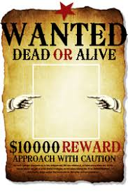 Make A Wanted Poster Free Online Customize 210 Wanted Templates Postermywall