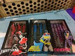makeup brush set dc ics batman image
